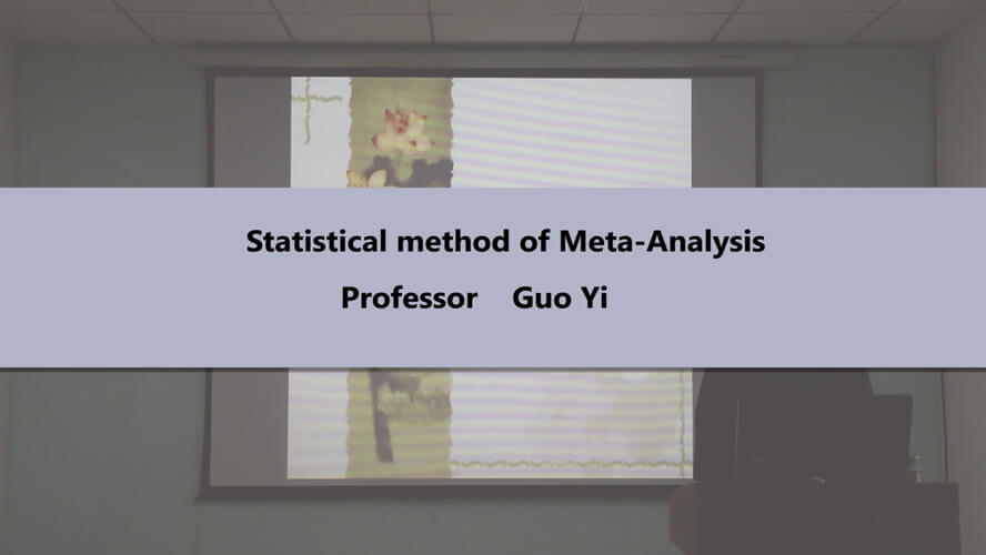 Statistical method of Meta-Analysis
